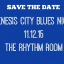 Save the Date! Genesis City Blues Night is Nov. 12th!
