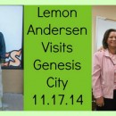 Lemon Andersen Visits Genesis City!