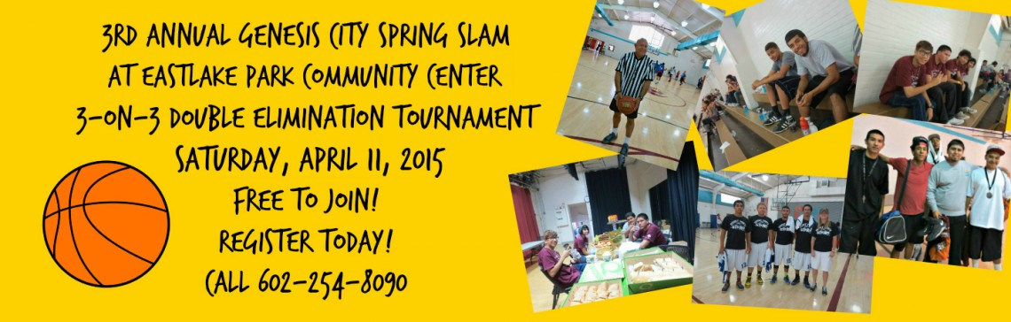 The 3rd Annual Genesis City Spring Slam is April 11th! Register today!